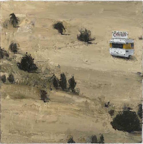 Penrose hart Cherrie oil on canvas 2008