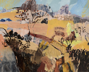 Sciberras Luke Quandong Highway oil on board 2017 Hadley's Art Prize