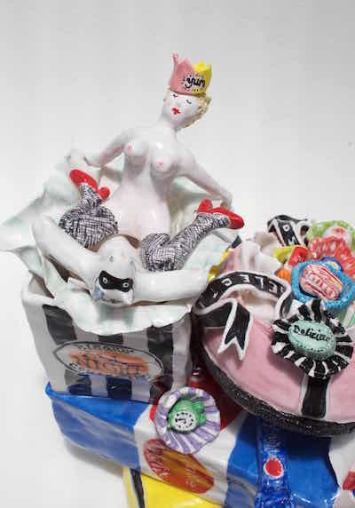 Gullifer Myf ceramics New England Regional Art Gallery 2018