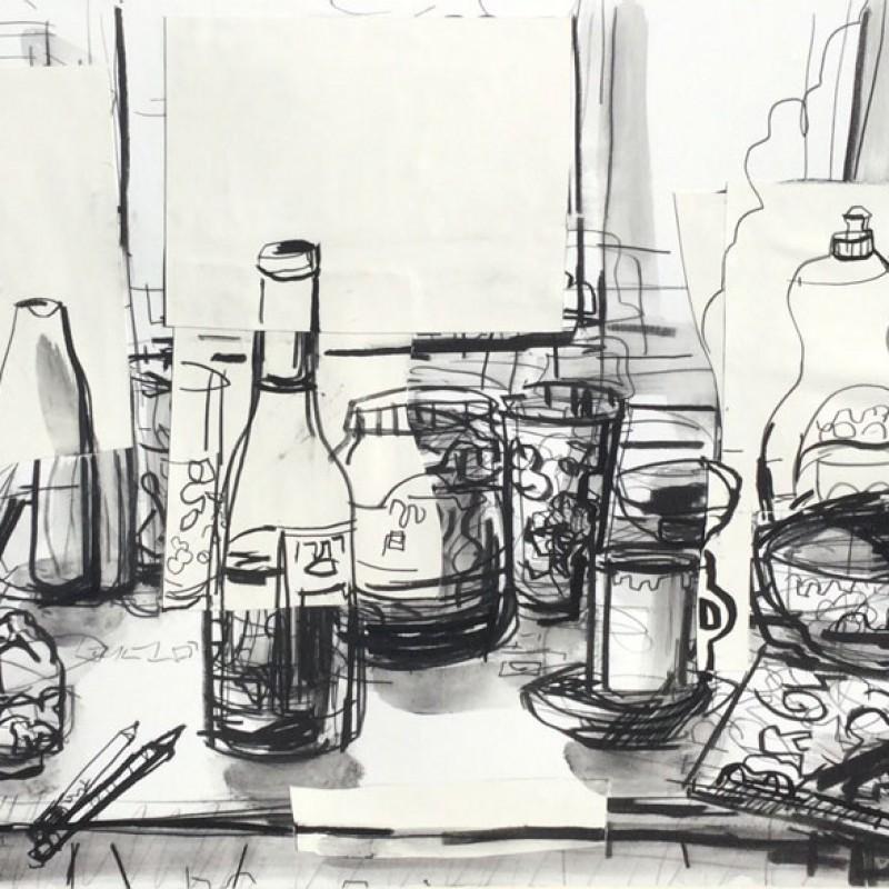 John Bokor Kedumba Drawing