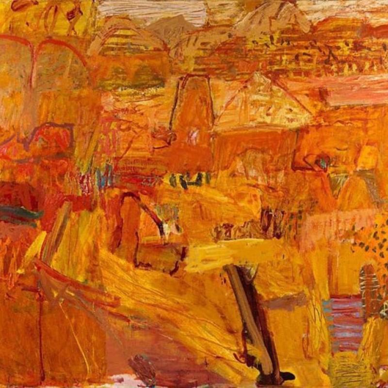 Elisabeth Cummings Arakaroola Landscape