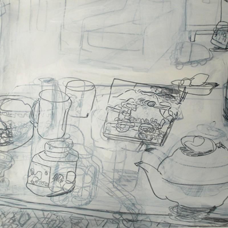 Teapot and Honey
