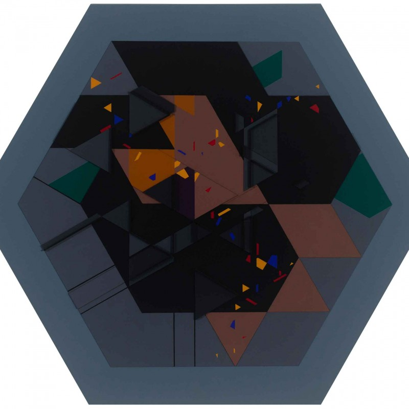 Untitled Hexagon Number 9