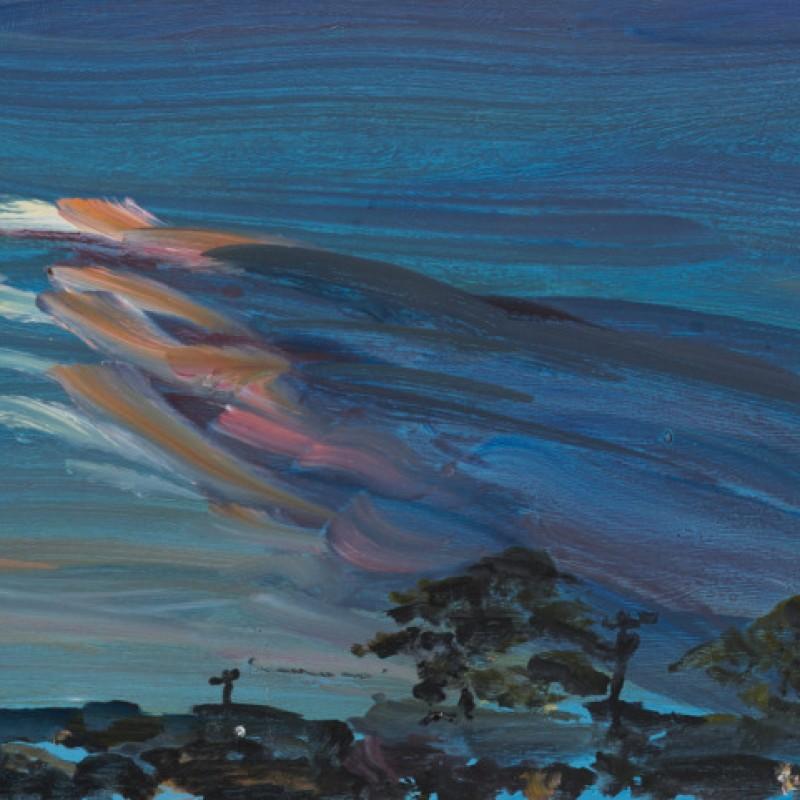 Sunset clouds Currarong I