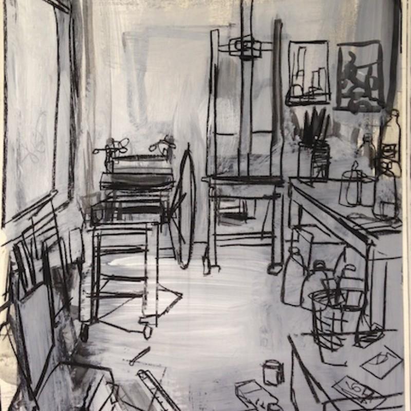 Studio Interior Afternoon