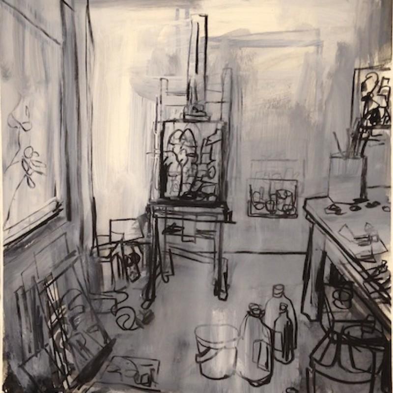 Studio Interior Morning