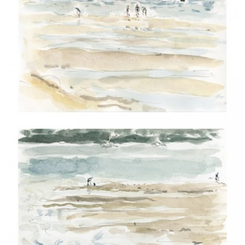 Pumping for nippers [diptych]