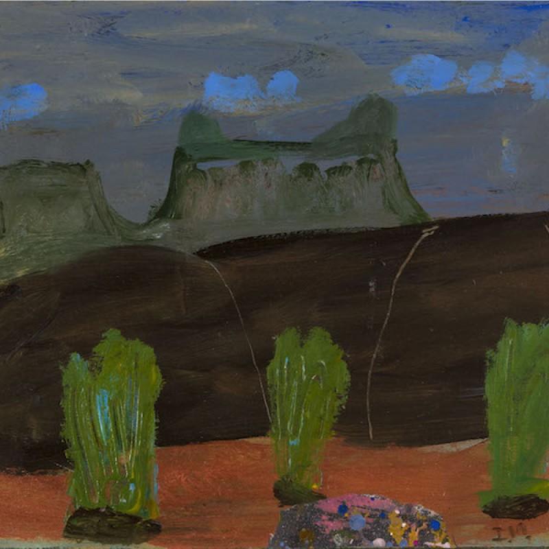 Blue Cloud over Kimberleys