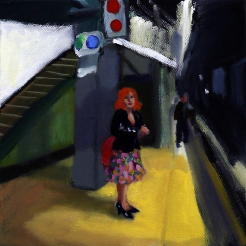 Redhead at St James Station