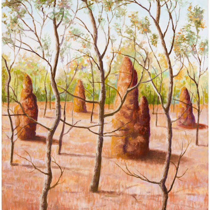 Trees Bending with Four Mounds Kakadu