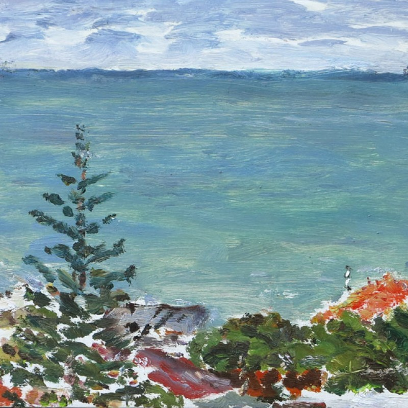 Pine and sea, Sorrento