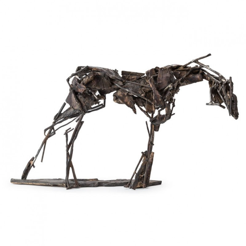 Untitled / equine study in bronze