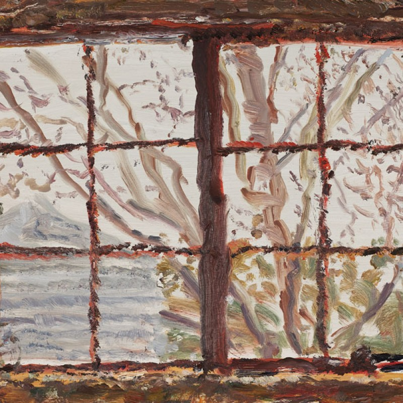 Garage windows, Mount Lofty (study) I