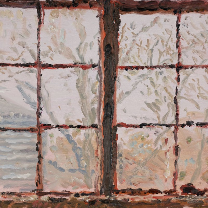 Garage windows, Mount Lofty (study) III