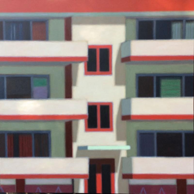 Cream balconies