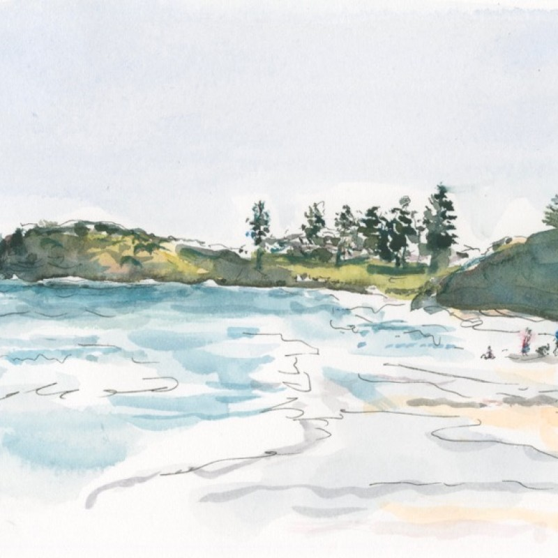 Winter Afternoon, Sharkeys Beach