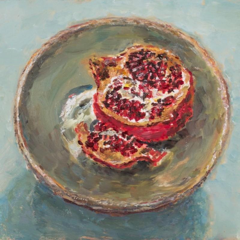 Pomegranate on Matilda's plate