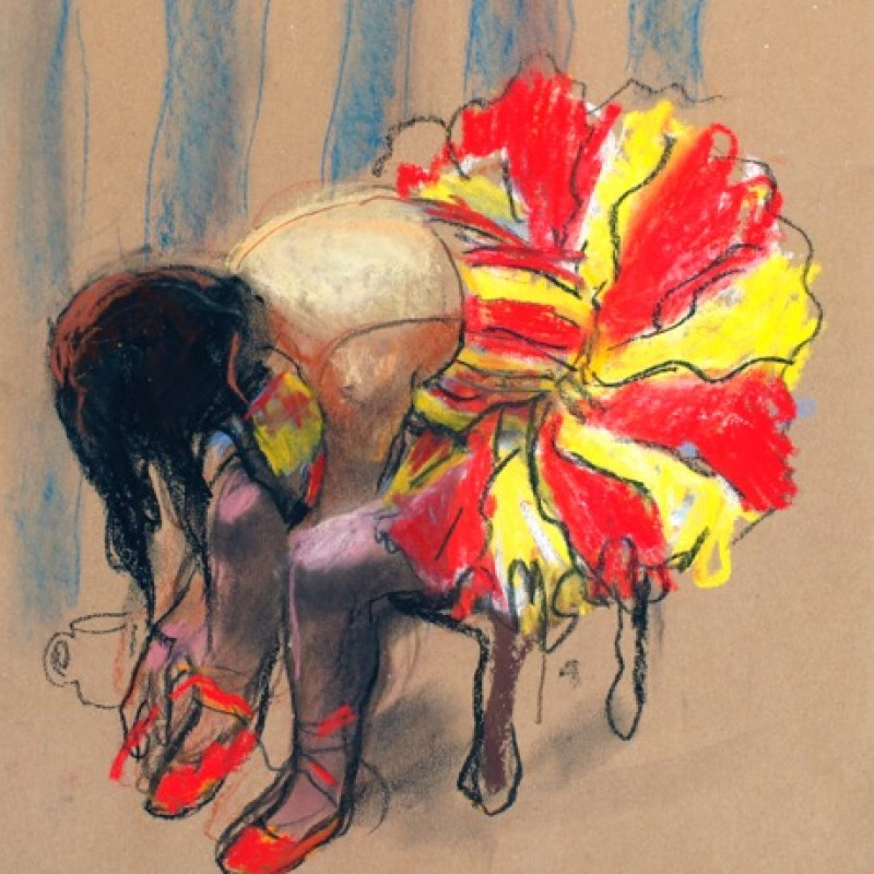 Red and Yellow Tutu – Camille (Paris)
