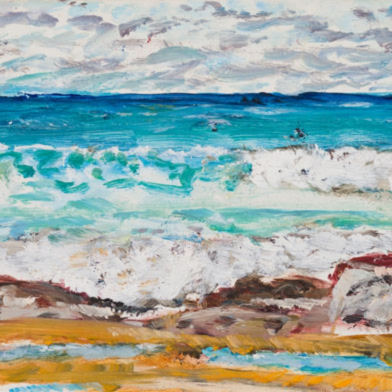 [Detail] Waves, Maroubra triptych