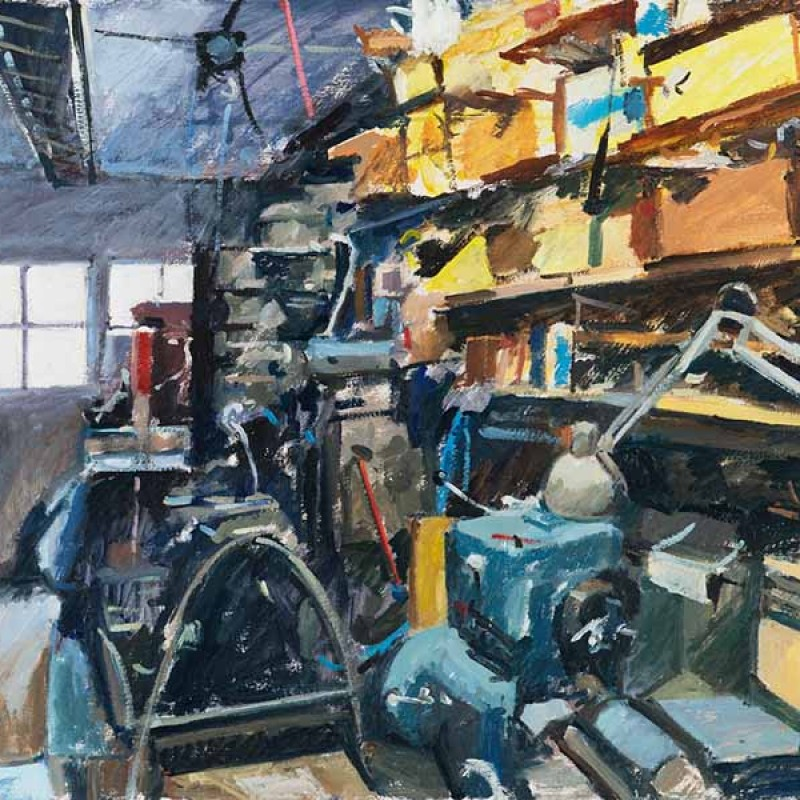 David Thomas's Shed II