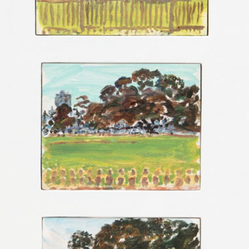 Reg Bartley Oval triptych