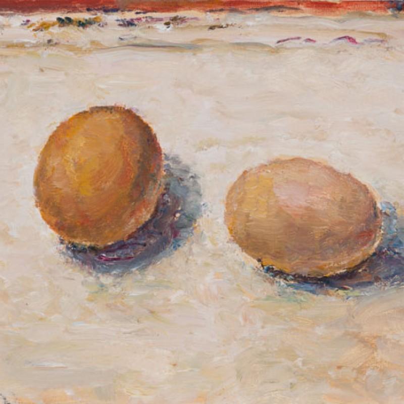 Two eggs V