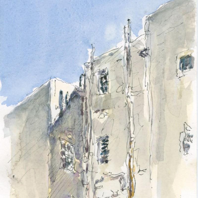Behind Macleay Street