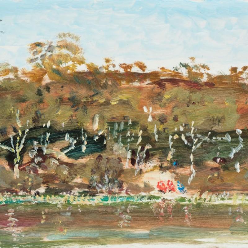 Red canoes, Torokina