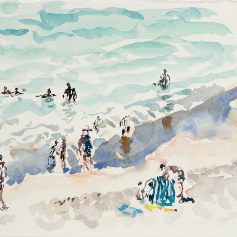 Bathers, Watermans Beach