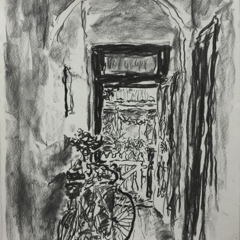 Bike in the hallway, Murrays Lane II