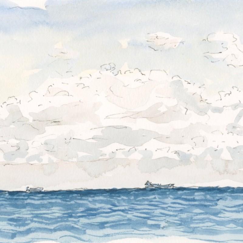 Freighter off Sorrento, WA VII