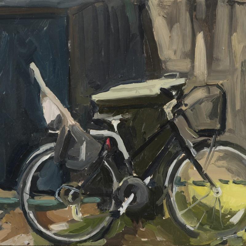 Bike with bin