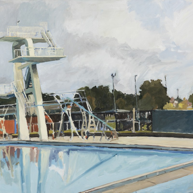 Lambton Pool diving board