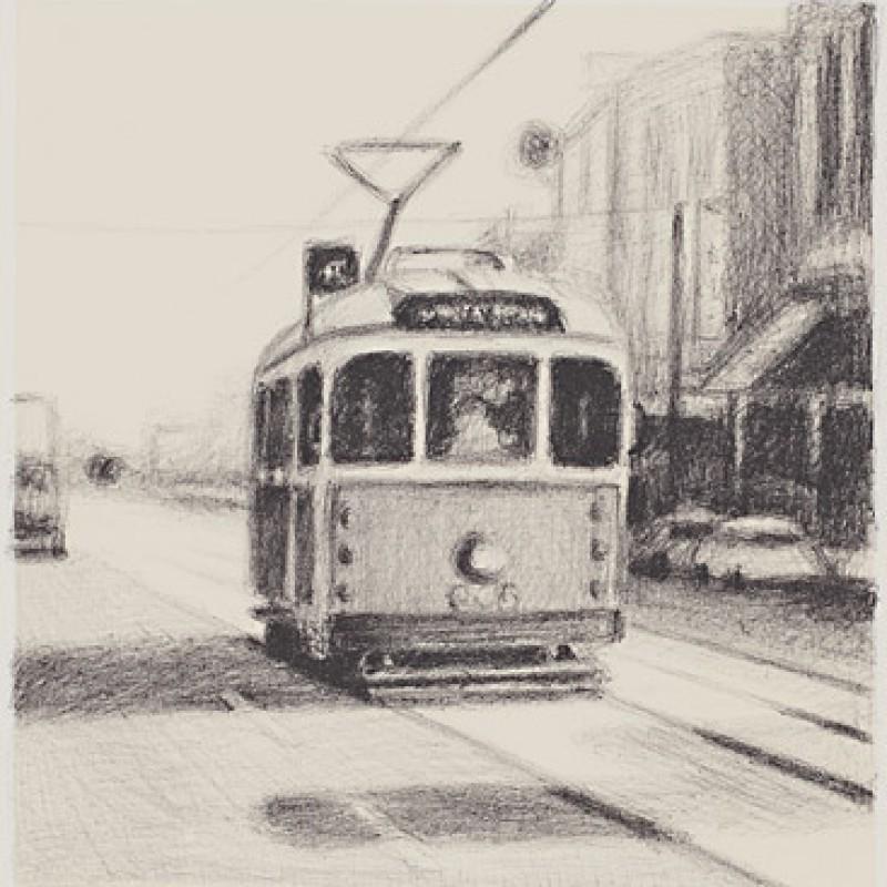 Reverse tram