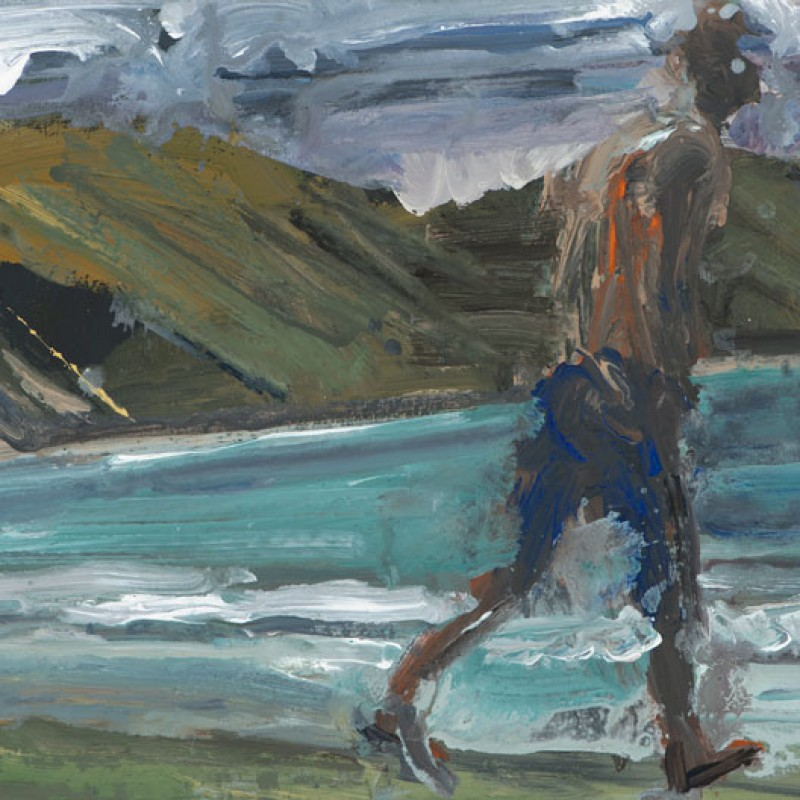Walking figure / Castlepoint
