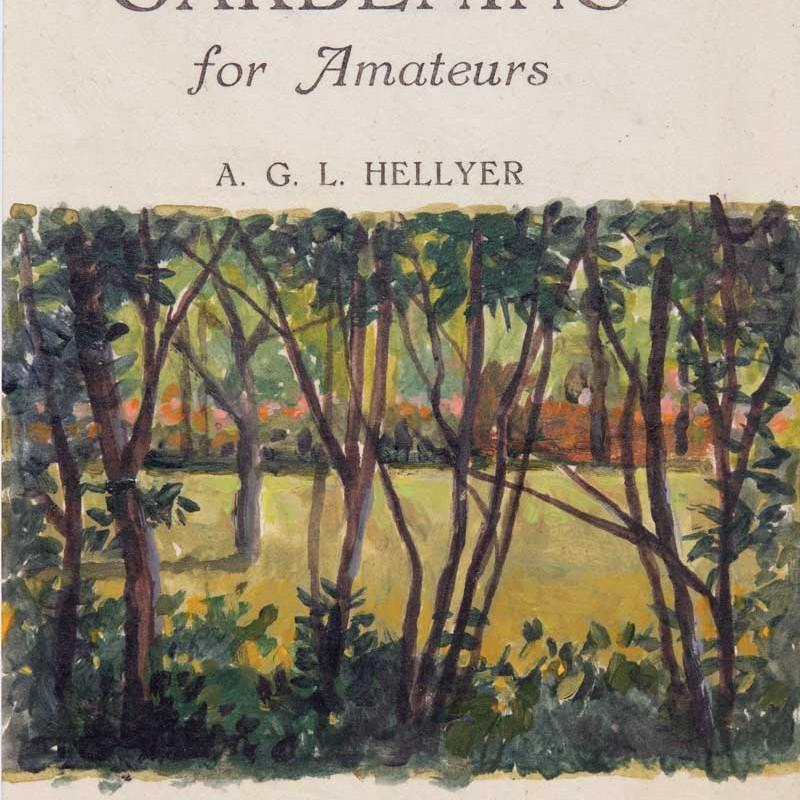 Through trees Hillston imprint