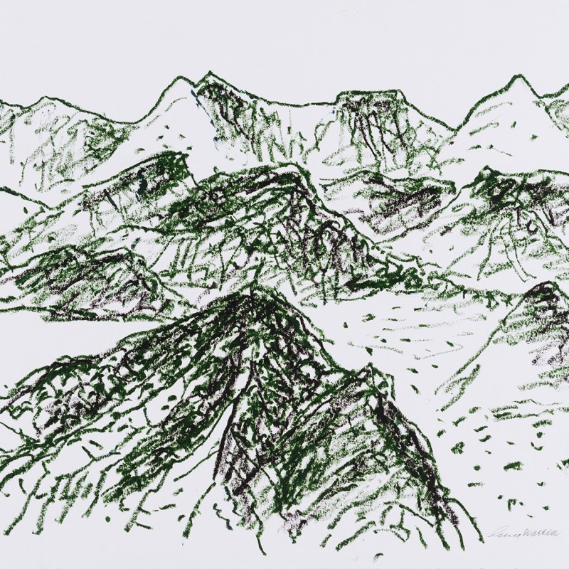 Andes drawing