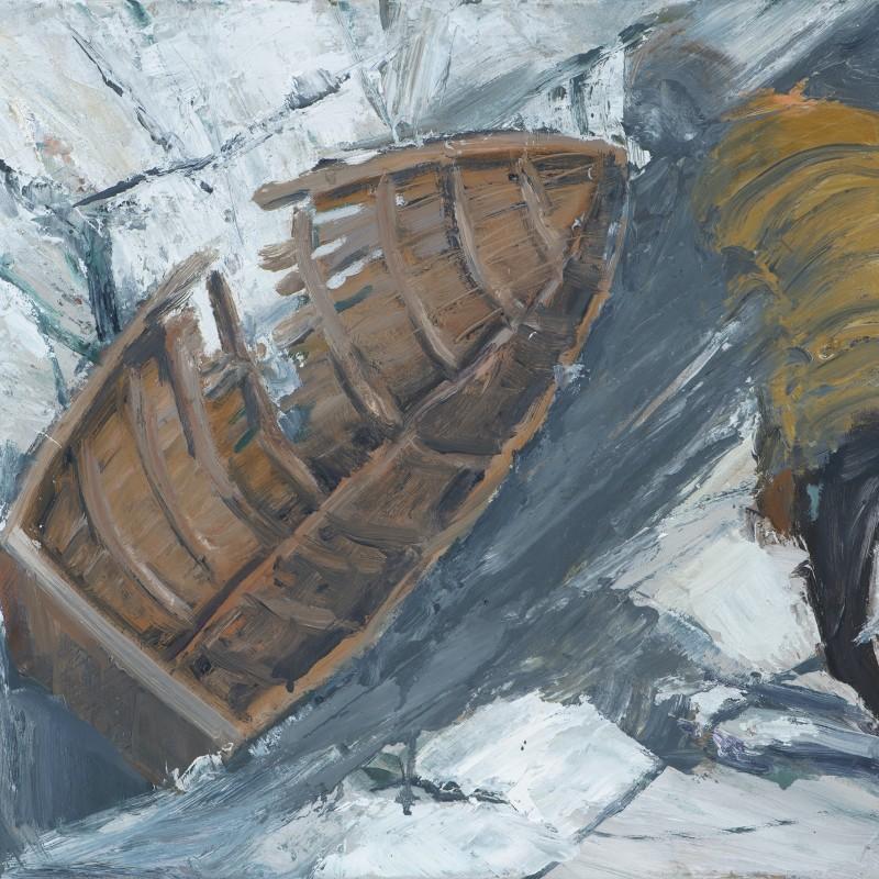 Broken boat study Tasman Saddle