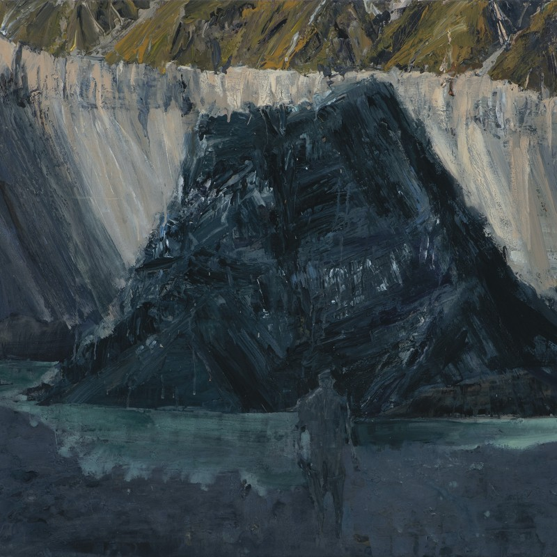 Hooker Valley painting