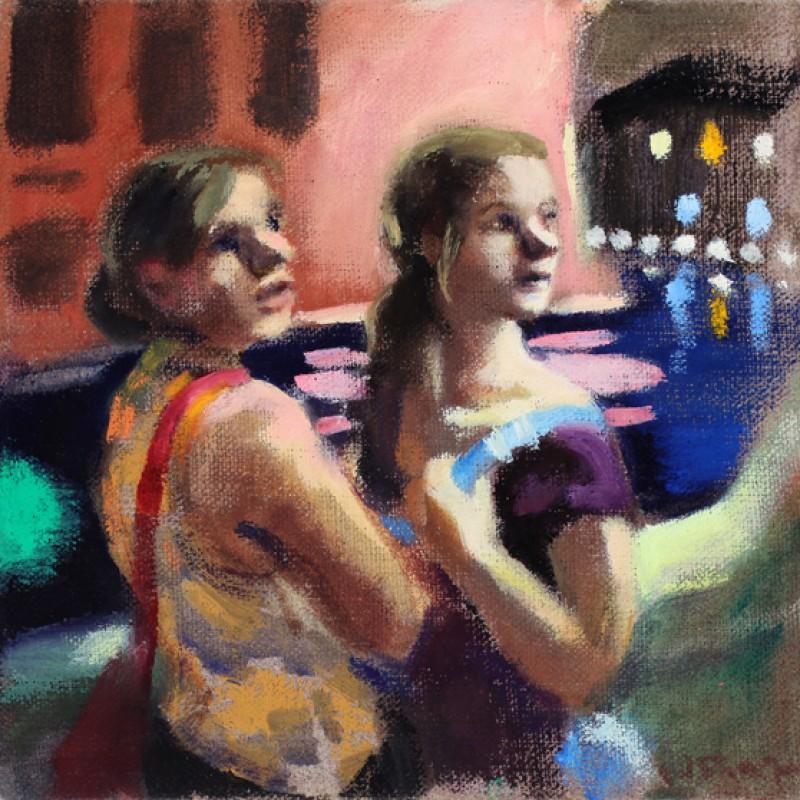 Girls on the Vaporetto
