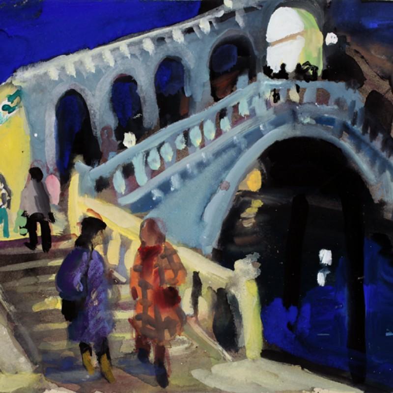 The Rialto at Night