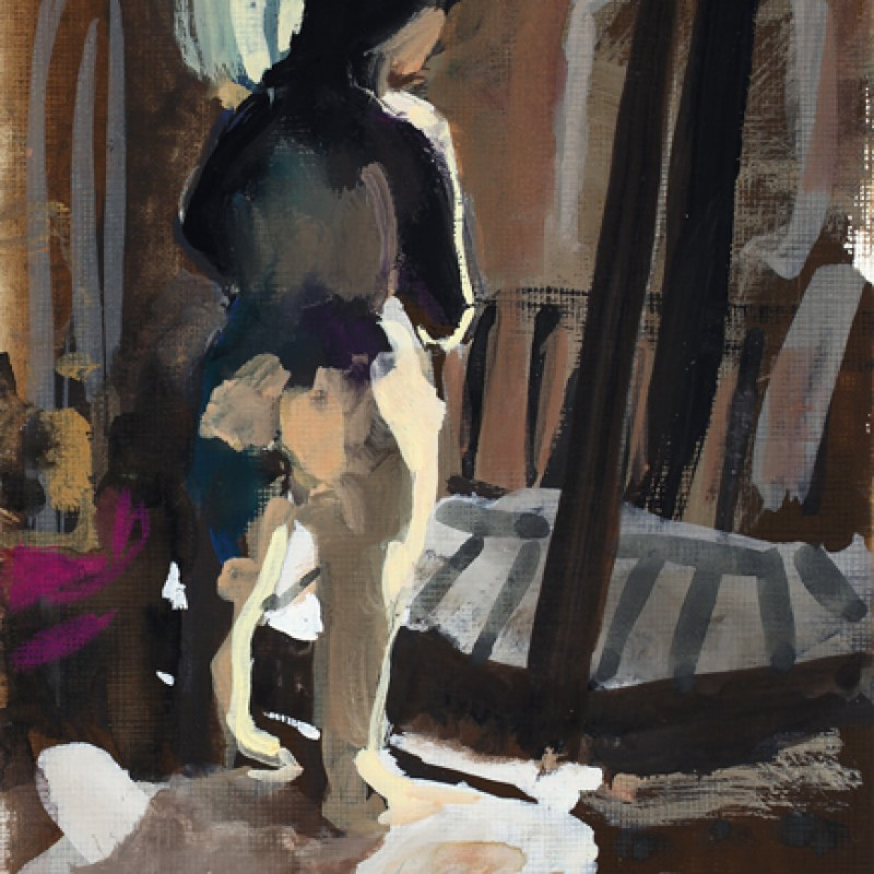 Venice Nude (looking from the window)