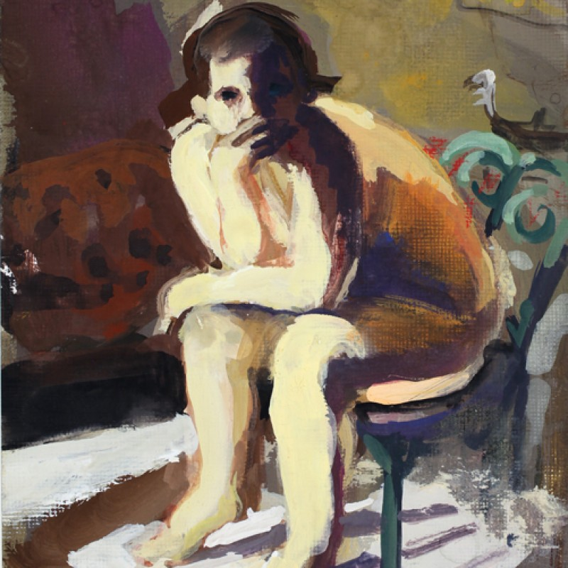 Venice Nude (with Green Chair)