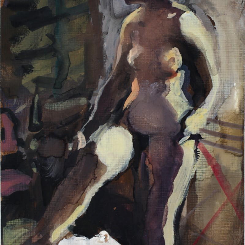 Venice Nude (with Pink Chair)