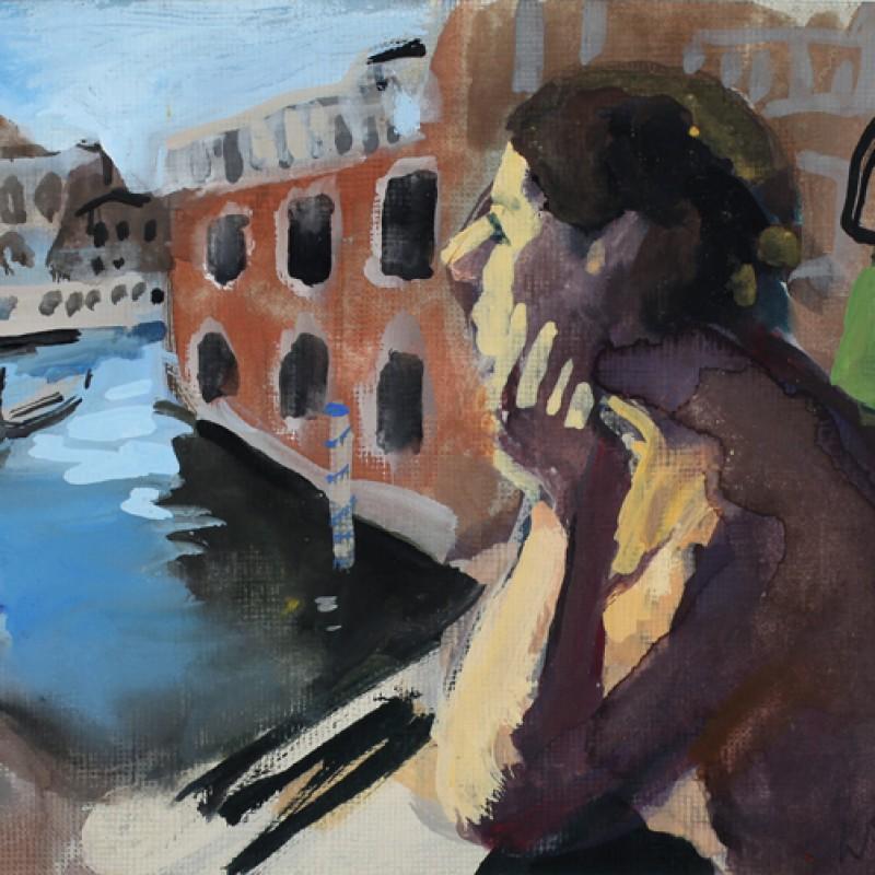 Venice Nude (with gondola)