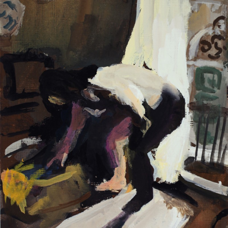 Venice Nude (with suitcase)