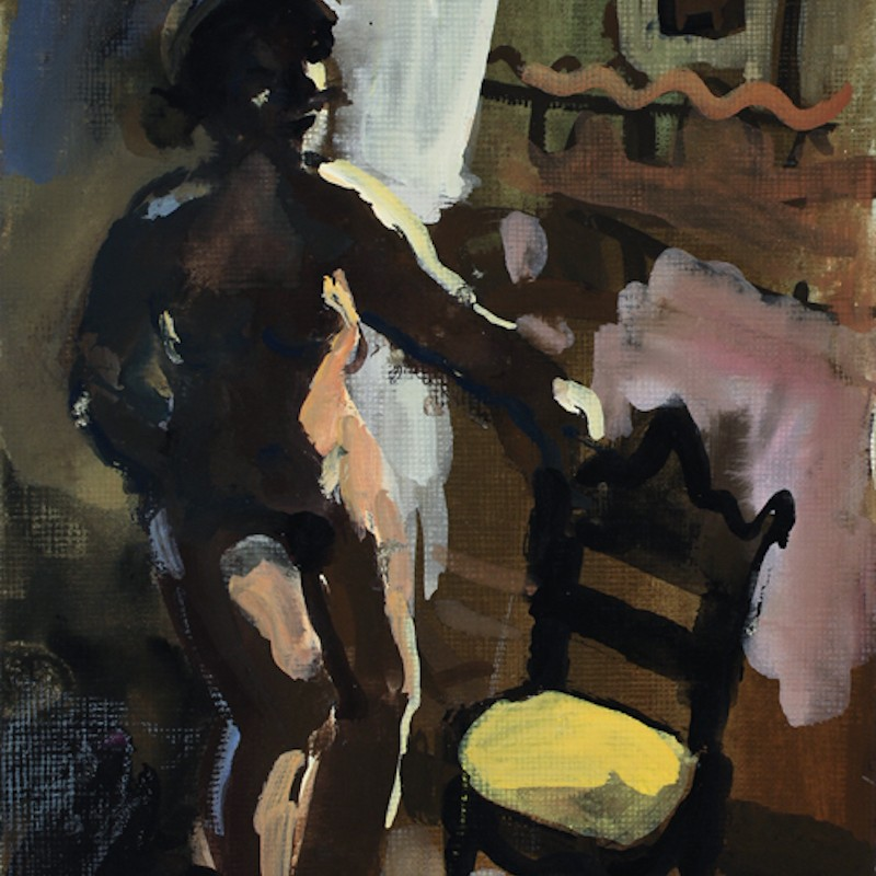 Venice Nude (with yellow chair)