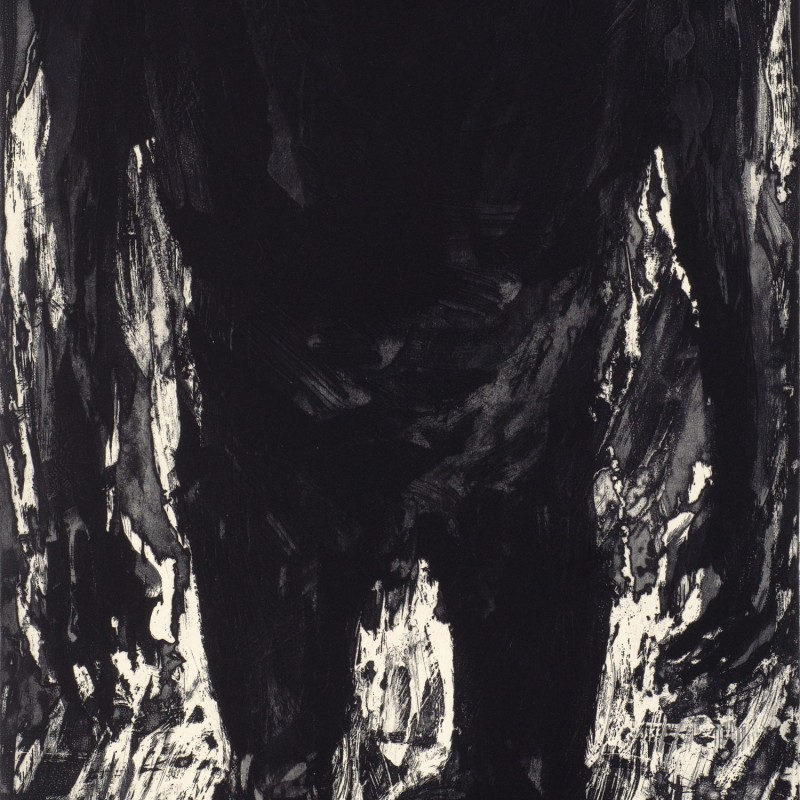 Dark Figures in Smoke