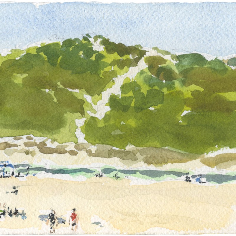 Rivermouth Sand Dunes, Prevelly